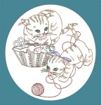 SP177 Kitten Duo Motifs