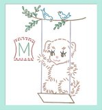 RL3604 Puppy DOW Tea Towel