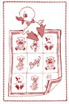 AB7186 Animal Applique Quilt Baby