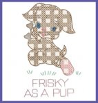 LW544 Gingham Pet Sayings