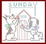 AB6588 Puppy Pal DOW XStitch