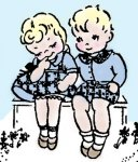 RL9774 Boy & Girl Sweethearts