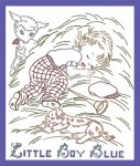 LW967XL Little Boy Blue & Little Bo Peep