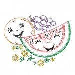 AB-7102 Happy Singing Fruit for Tea Towels