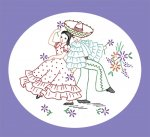 AB7446 Mexican Boy & Girl Burro Designs