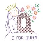 AB7157 Alphabet ABC Queen