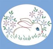 AB7174 Nursery Motifs Bunny!