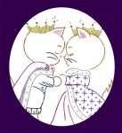 CC598 Royal Cat Romance King