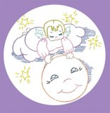 SK117 Sweet Angel Moon Quilt