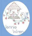 RL2919 Jennie Wren Chicken Little Bib