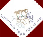 RL3318 Kitten DOW Monday's Child