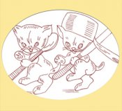 LW624 Krazy Kitchen Kittens