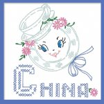 VTTT3 Tea Towel Trios 3 Bonnet China